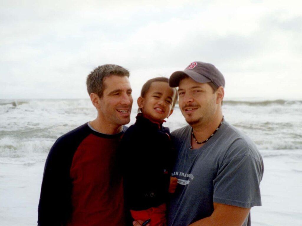 Danny Stewart e il suo partner Pete Mercurio
