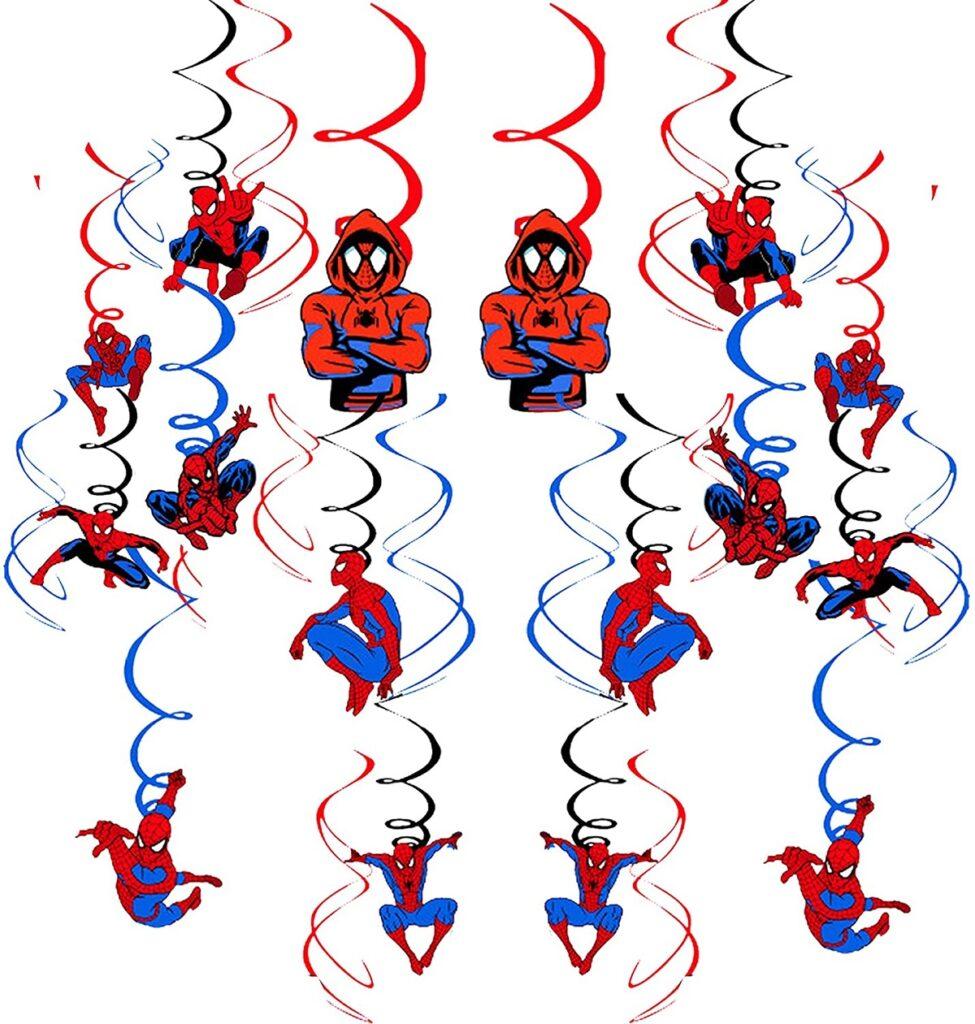 decorazioni spiderman