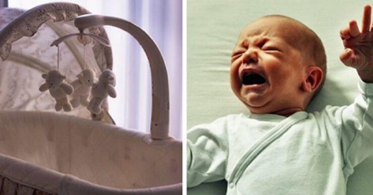 suocera lascia il nipote piangere