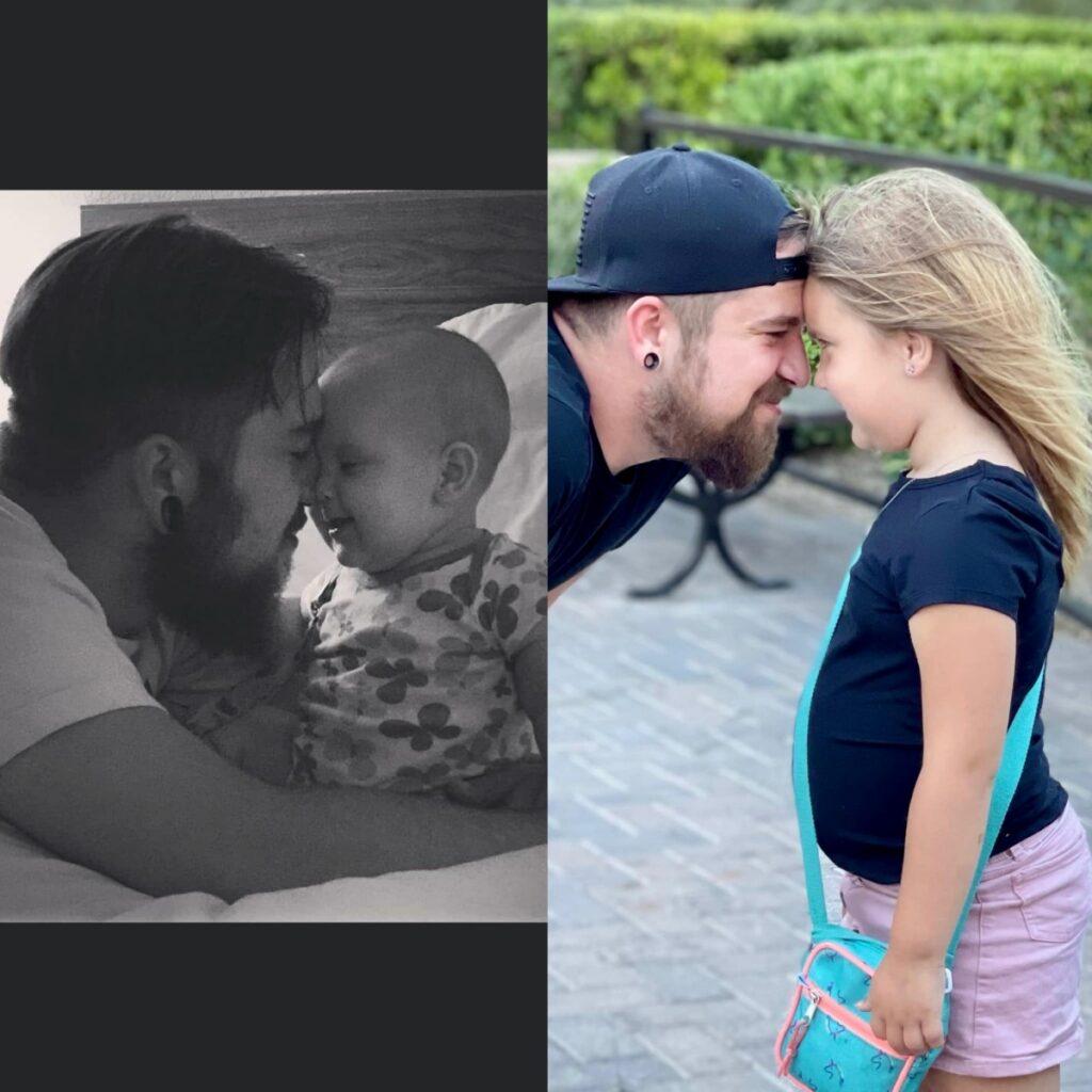 Un padre single cresce la figlia