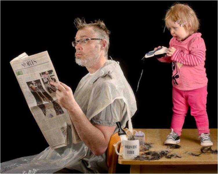 Il taglio dei capelli