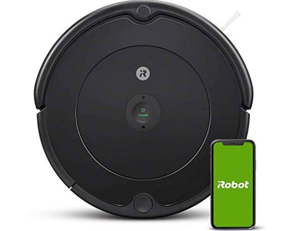 Robot aspirapolvere con connessione Wi-Fi