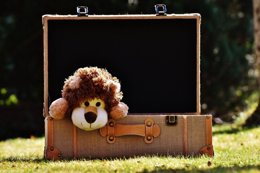 Come organizzare la valigia dei bambini
