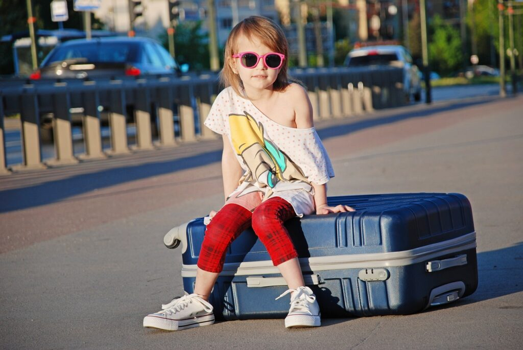 Cosa portare in viaggio per i bambini