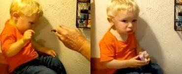 nonno gli aveva detto di non mangiare la cipolla