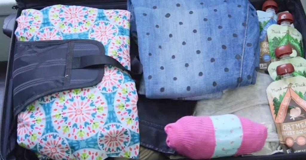 Come organizzare la borsa dei pannolini