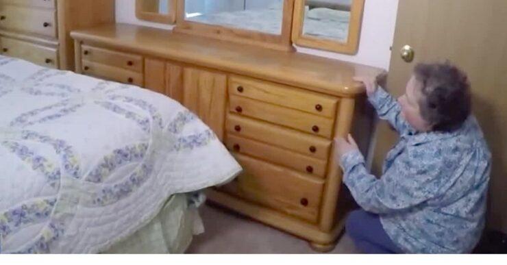 Trovata fortuna in camera da letto