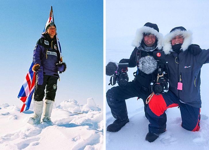 Essere un'esploratrice polare da record e mamma di 4 figli