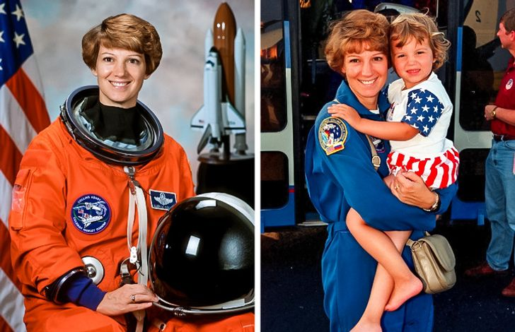 Comandare una navicella spaziale ed esser madre