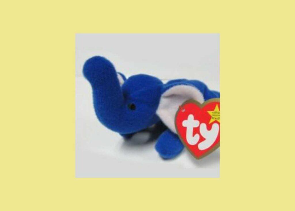Peanut l'elefante blu reale