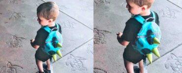 Mamma criticata per aver usato un guinzaglio di sicurezza per bambini