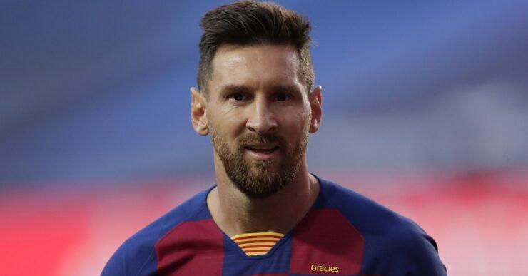 Lionel Messi fotografia