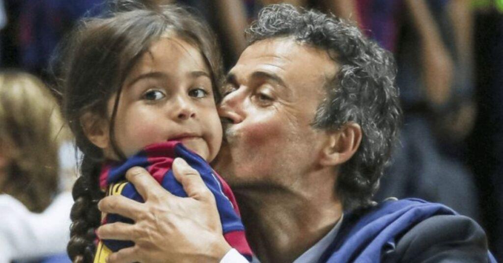 Luis Enrique e Xana