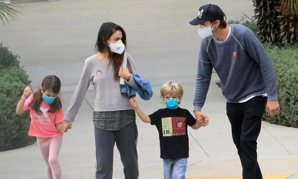 Famiglia Mila Kunis Ashton Kutcher