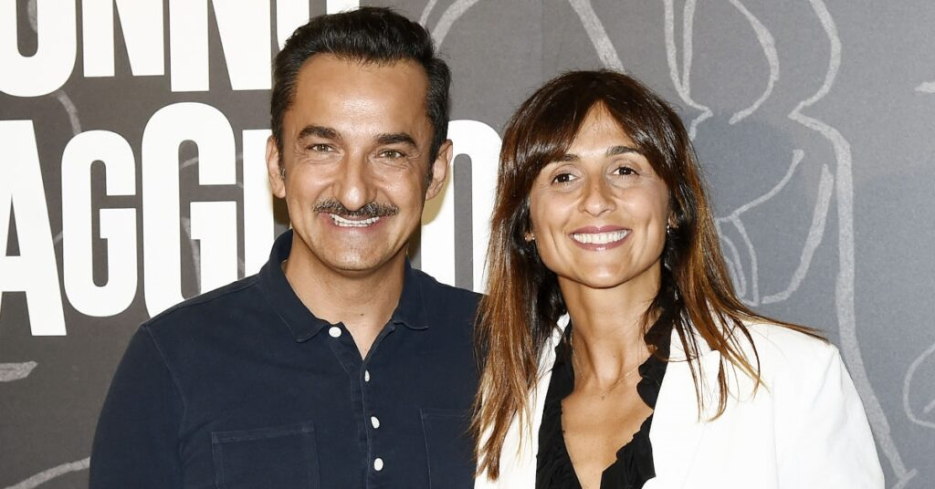 Nicola Savino e la moglie