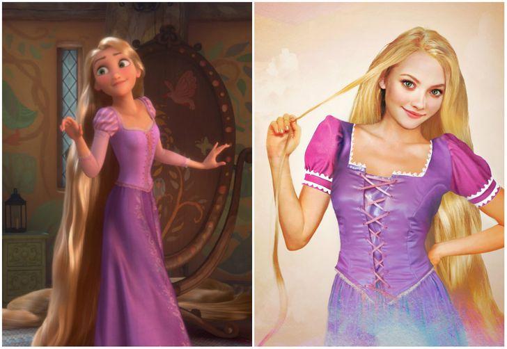 Rapunzel di Rapunzel, L'intreccio della Torre