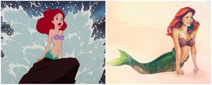 Ariel di La Sirenetta