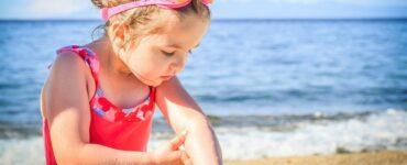Proteggere i bambini dal sole