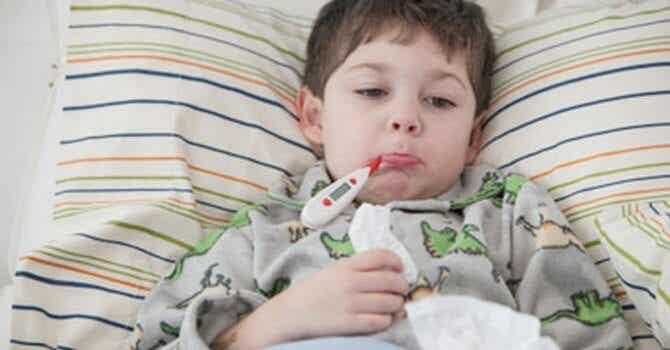 raffreddore dei bambini