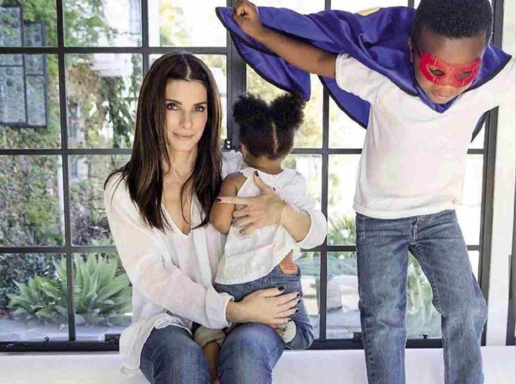 Figli Sandra Bullock
