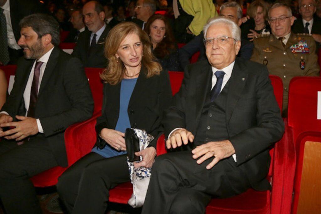 Sergio Mattarella e Laura Mattarella
