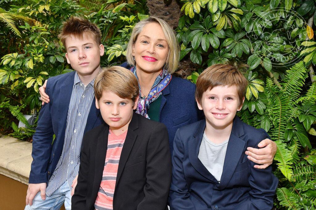 Famiglia di Sharon Stone
