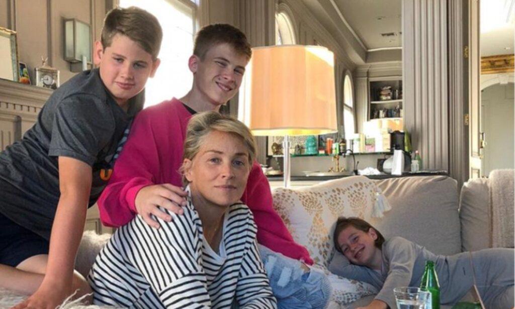 Famiglia Sharon Stone