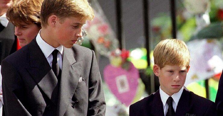 La promessa di Harry e William a mamma Diana