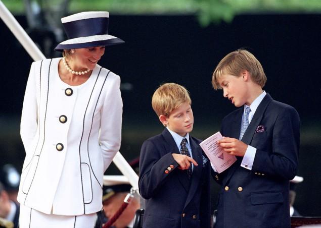 Diana e i figli