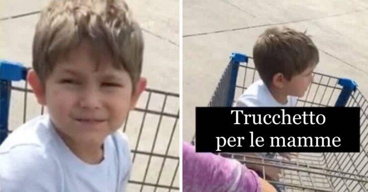 Come mette il Bambino nel carrello
