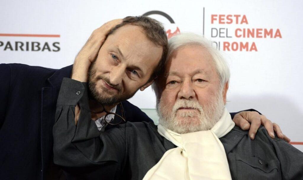 Paolo Villaggio e Pierfrancesco Villaggio