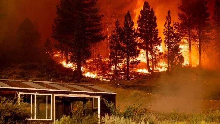 Incendio devastante