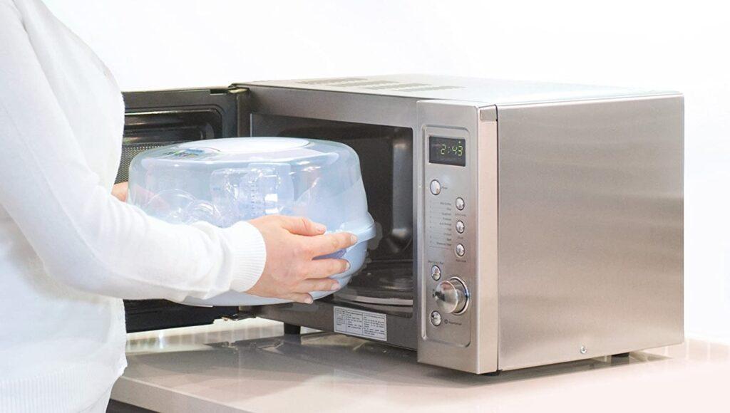 Sterilizzatore per forno a microonde