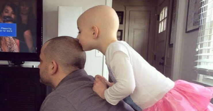 Dave Sylvaria si rade per la figlia Riley