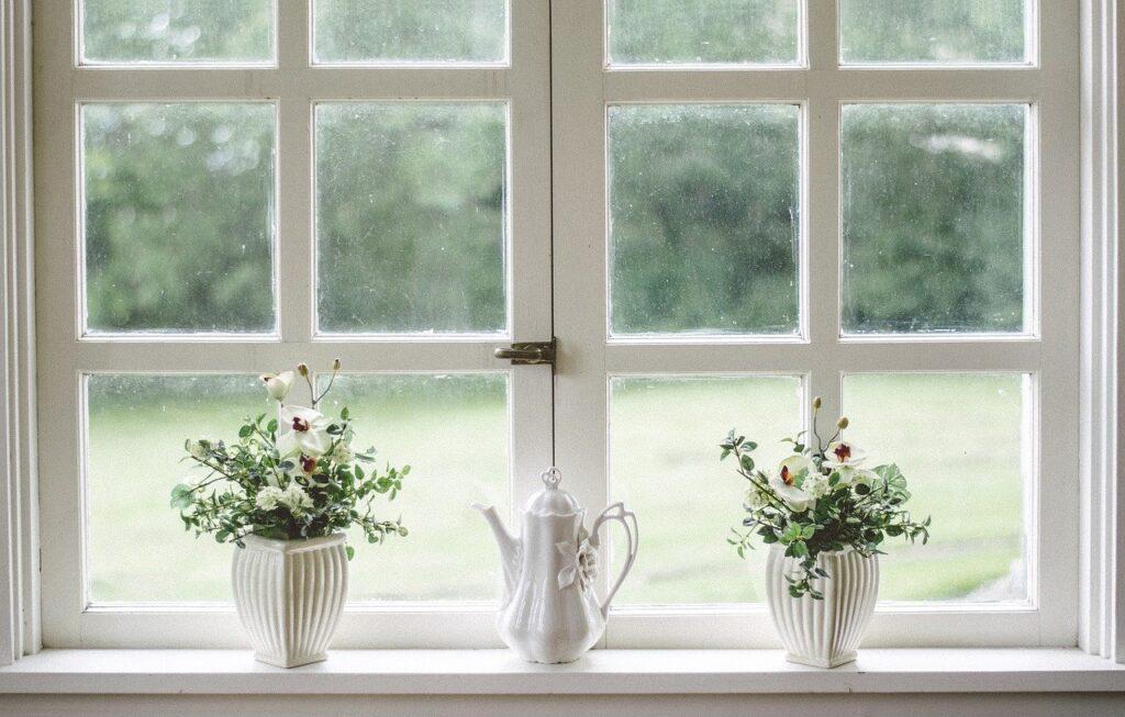Aceto sulle finestre