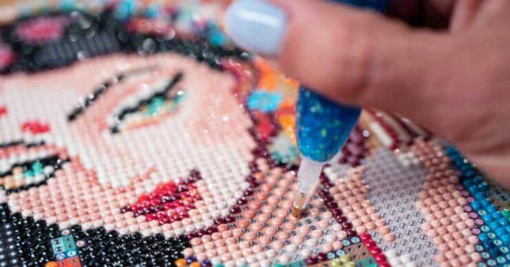 Arte del diamond painting