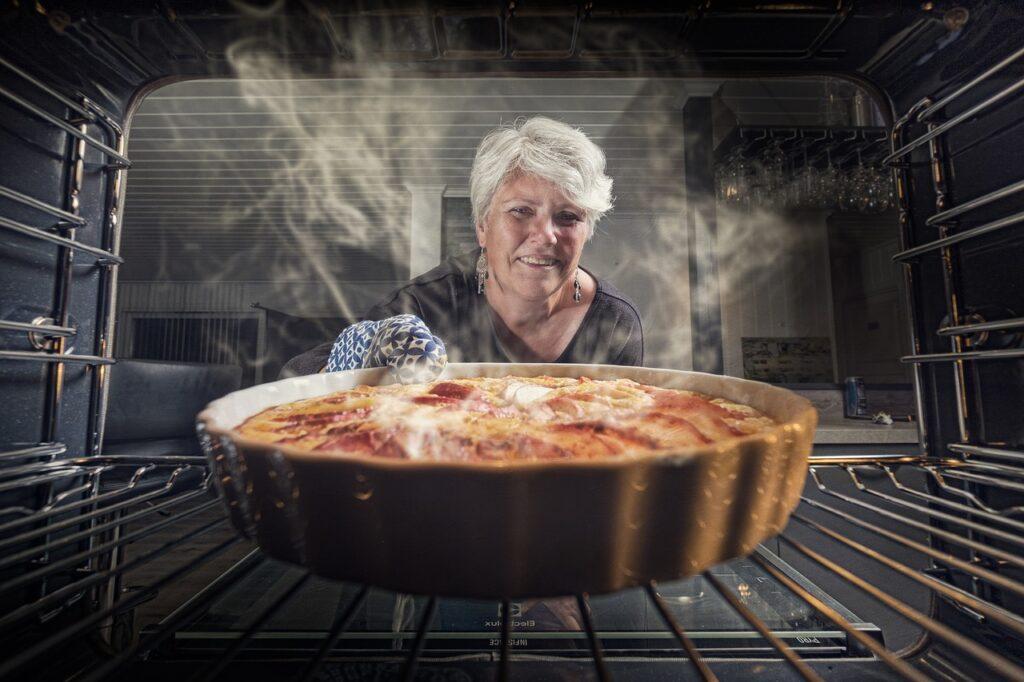 Cucinare nel forno