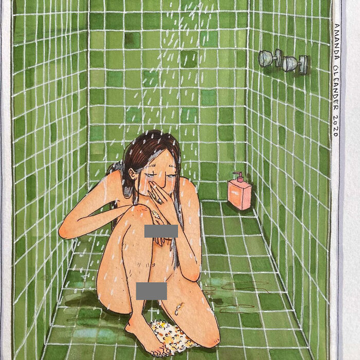 Nausea sotto la doccia