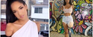 Influencer ecuadoriana senza braccia e gamba