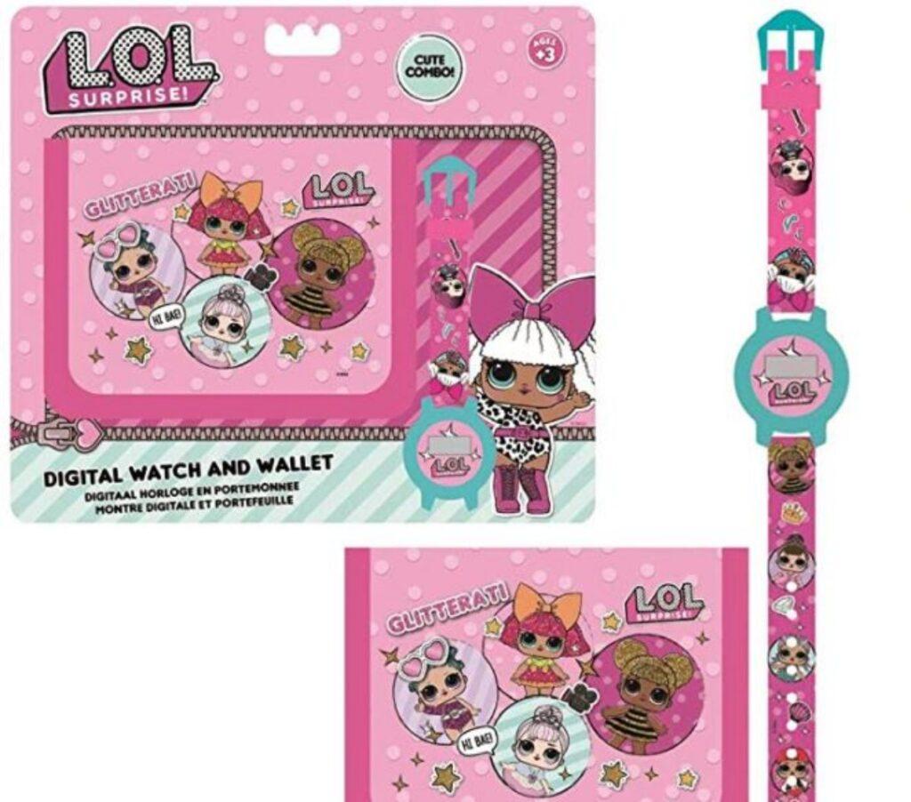Set orologio e portafoglio LOL Suprise