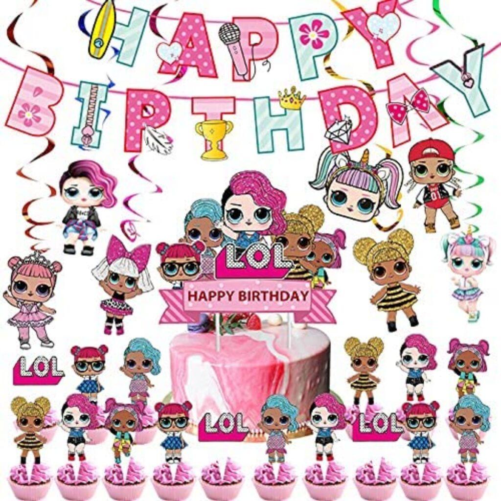 Festoni compleanno LOL Suprise