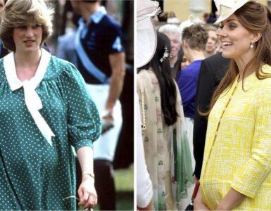donne reali hanno sfoggiato look eleganti in gravidanza