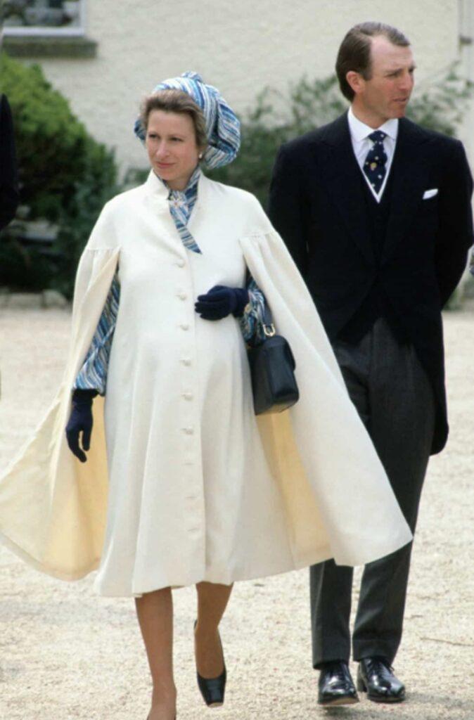 La principessa Anna, in attesa di sua figlia Zara Tindall