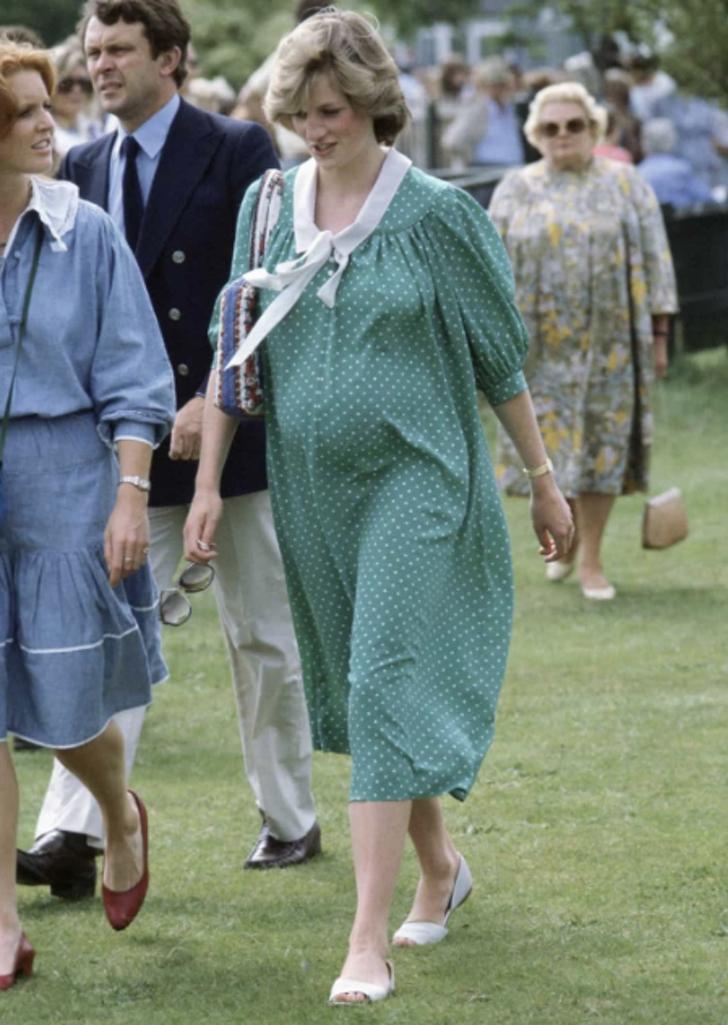 Lady D in attesa del primogenito, il Principe William