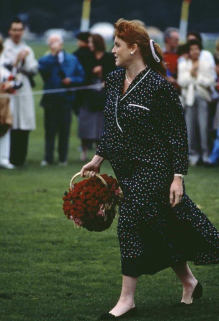 Sarah Ferguson in dolce attesa della principessa Beatrice