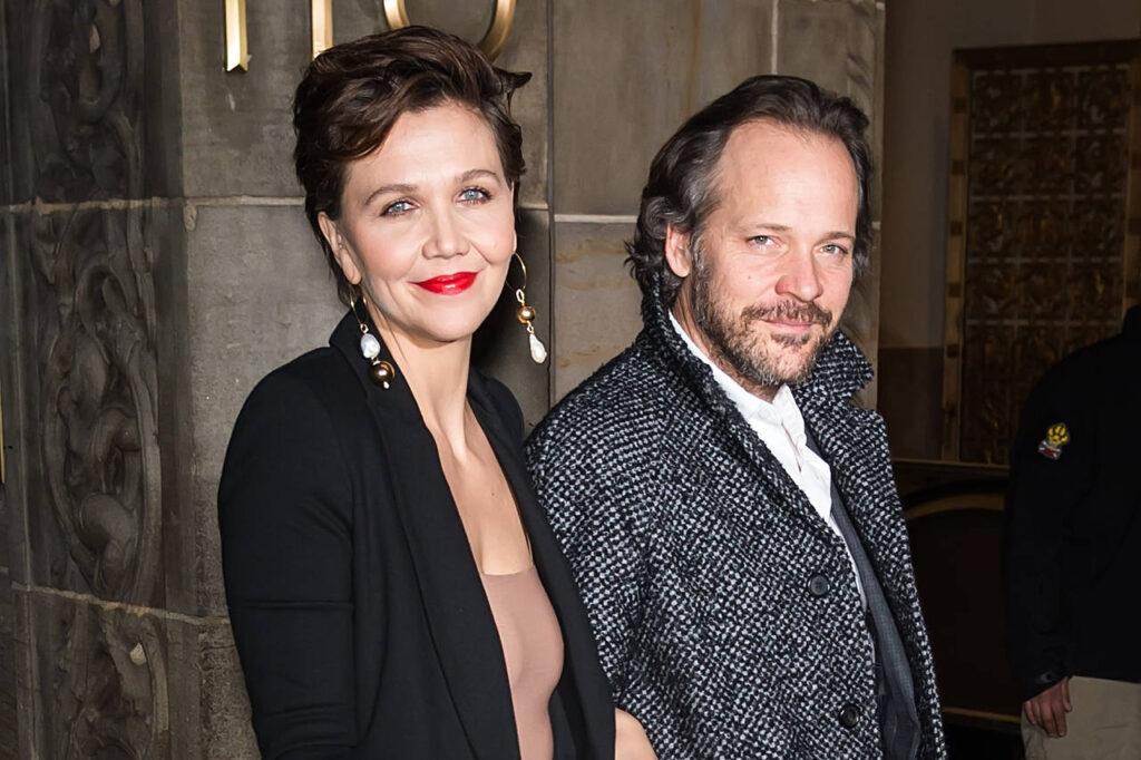 Maggie Gyllenhaal e il marito