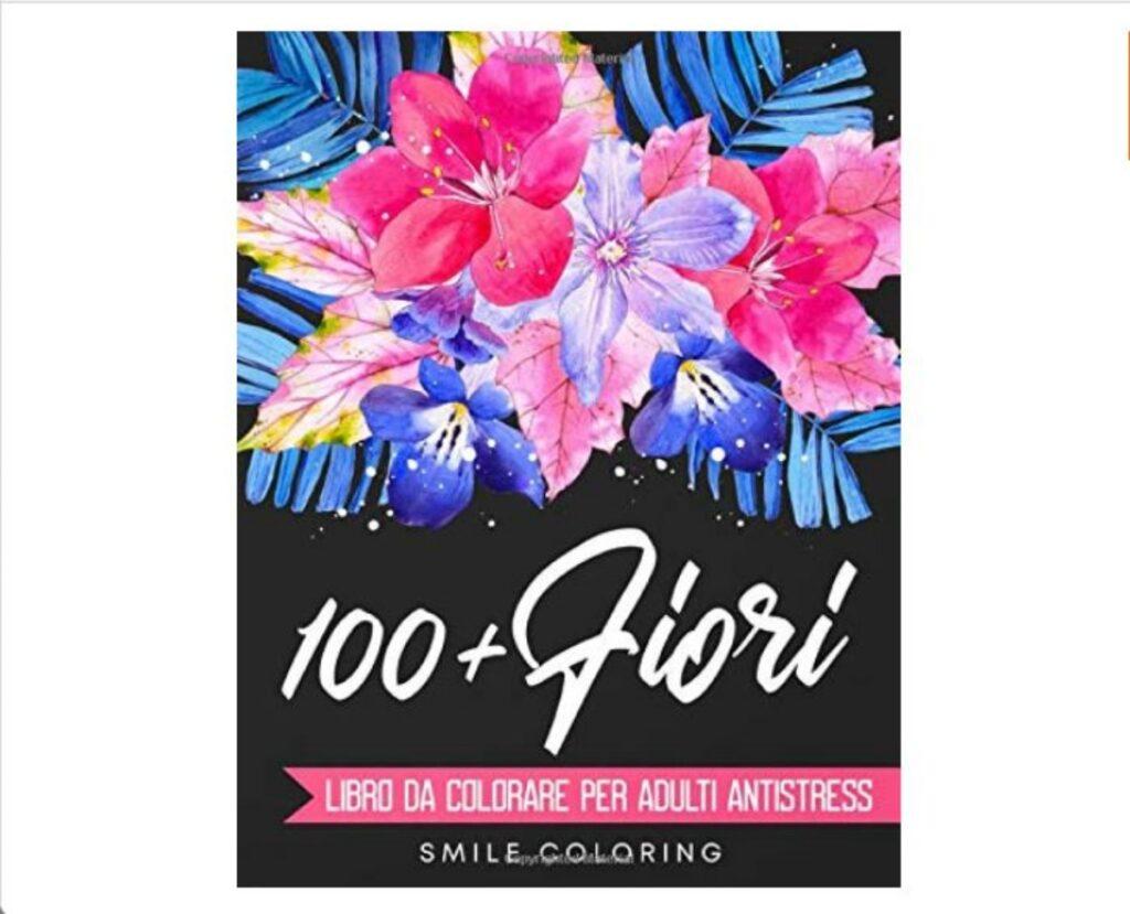 Quaderni da colorare fiori