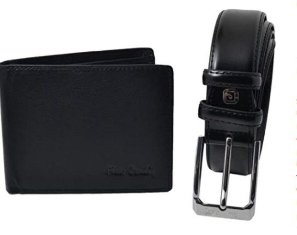 Set portafoglio e cintura