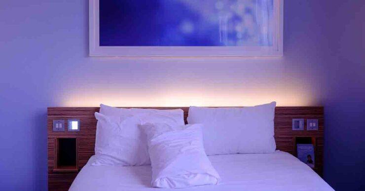 lenzuola del letto