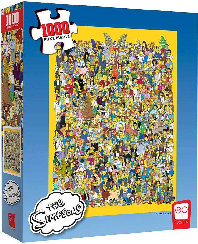 Puzzle gigante Simpson
